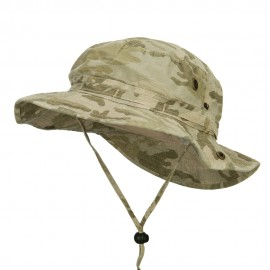 Camouflage Washed Hunting Hat - Desert Camo