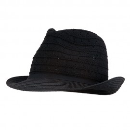 Women's Cotton Paper Braid Fedora