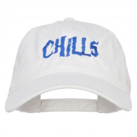 Chills Embroidered Washed Cap