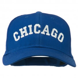Chicago Illinois State Embroidered Cotton Cap