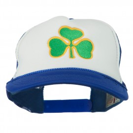 Clover St.Patrick's Day Embroidered Foam Mesh Cap