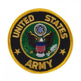 Army Circular Shape Embroidered Military Patch - Army