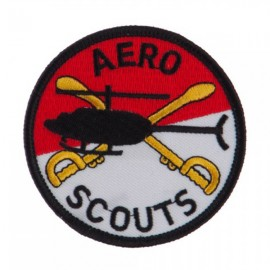 Army Circular Shape Embroidered Military Patch - Aero