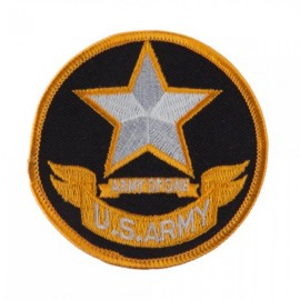 Army Circular Shape Embroidered Military Patch - Army 2