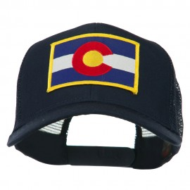 Colorado Western State Embroidered Patched Mesh Back Cap