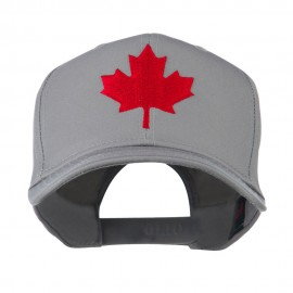 Canada's Maple Leaf Embroidered Cap - Grey