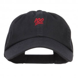 Mini 100 Percent Embroidered Low Cap
