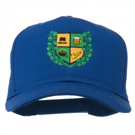 St Patrick's Day Crest Embroidered Cap