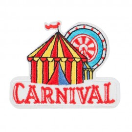 Carnival Embroidered Patches