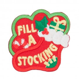 Christmas Theme Embroidered Patches