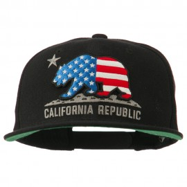 California Republic Classic Snapback Cap