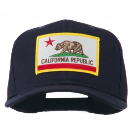 California State High Profile Patch Cap - Navy