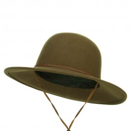 Round Crown Wool Felt Hat