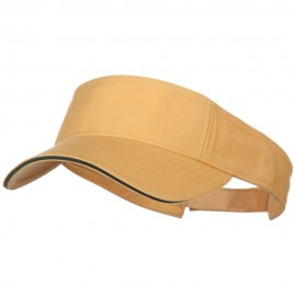 Prostyle Cotton Twill Washed Sandwich Visor