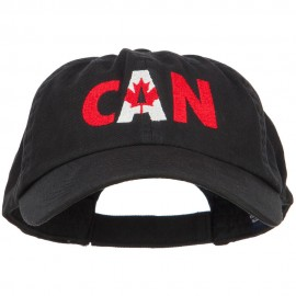 Canada Embroidered Low Profile Cap