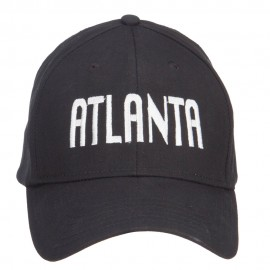 City of Atlanta Embroidered Cotton Cap