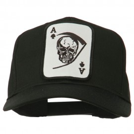 Ace Military Card Patched Solid Twill Cap