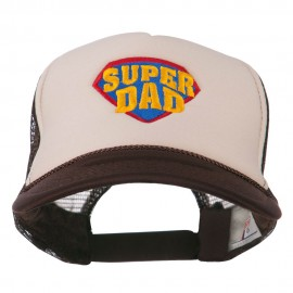 Super DAD Embroidered Foam Mesh Back Cap