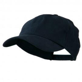 Deluxe Brushed Cotton Cap - Navy
