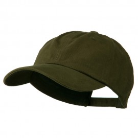 Deluxe Brushed Cotton Cap - Olive