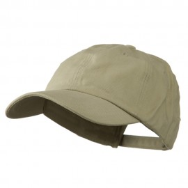 Deluxe Brushed Cotton Cap - Sand