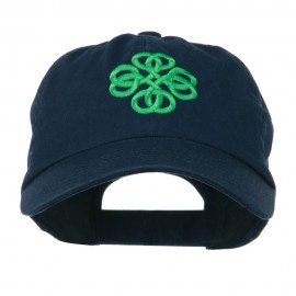 Double Circle Celtic Image Embroidered Cap