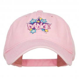 Dance Stars Patched Washed Cap