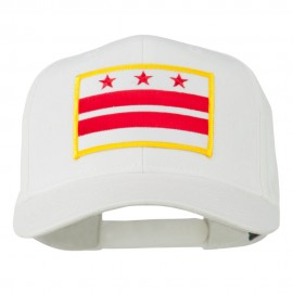 State of DC Embroidered Patch Cap