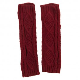 Women's Diamond Design Arm Warmer