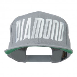 Diamond Embroidered 6 Panel Cap