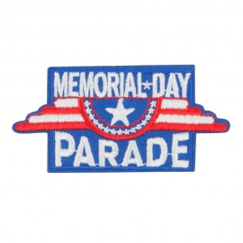 Memorial Day Parade Patches