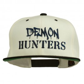 Halloween Demon Hunters Embroidered Snapback Cap