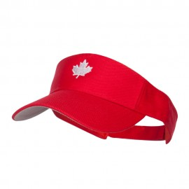 Canada Maple leaf Embroidered Sports Visor