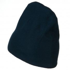 Deluxe Polar Fleece Beanie - Navy