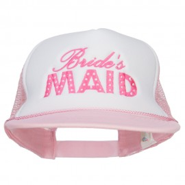 Bridesmaid Embroidered Foam Trucker Cap