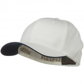 Flexfit Cool and Dry Transvisor Cap - White Navy