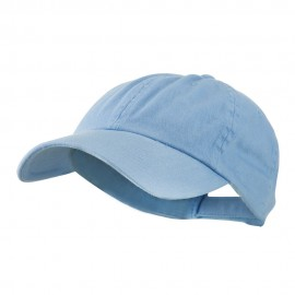 Low Profile Dyed Cotton Twill Cap - Sky Blue