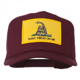 Don't Tread On Me Patched Cap