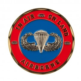 U.S. Army Division Coin (2) - Red 82nd
