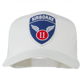 11th Airborne Military Patched Mesh Cap