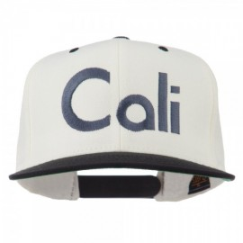 Cali Embroidered Snapback Cap