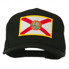 Eastern State Florida Embroidered Patch Cap - Black