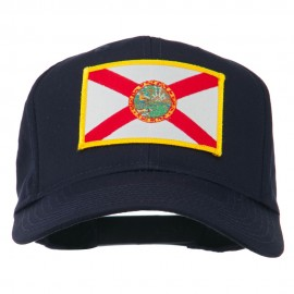 Eastern State Florida Embroidered Patch Cap - Navy