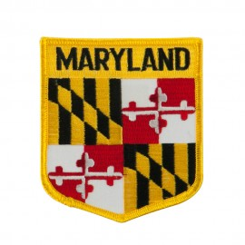 Eastern State Flag Embroidered Patch Shield