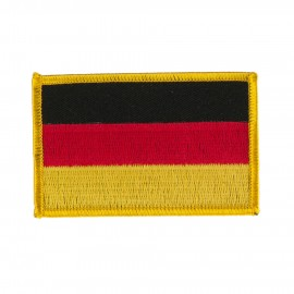 Europe Flag Embroidered Patches - Germany