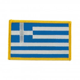Europe Flag Embroidered Patches - Greece