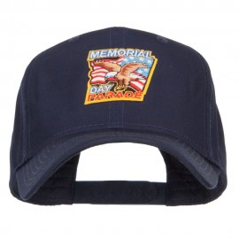Memorial Day Eagle USA Patched Cap