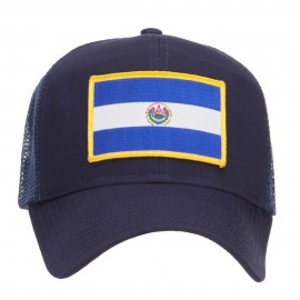 El Salvador Flag Patched Mesh Cap