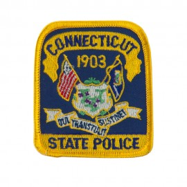 Eastern State Police Embroidered Patches - CT State