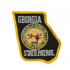 Eastern State Police Embroidered Patches - GA State
